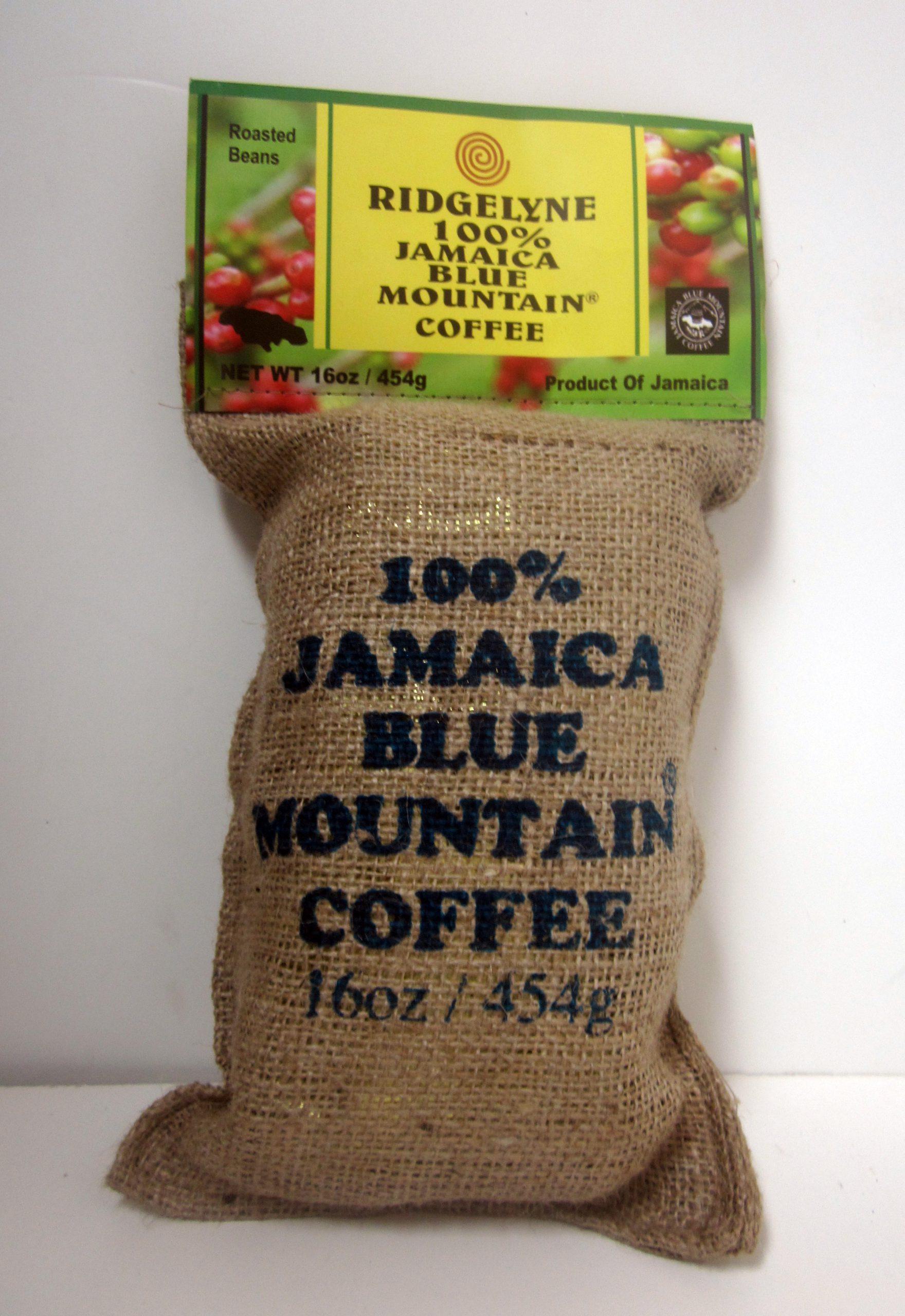 Ridgelyne Blue Mountains Coffee 16oz