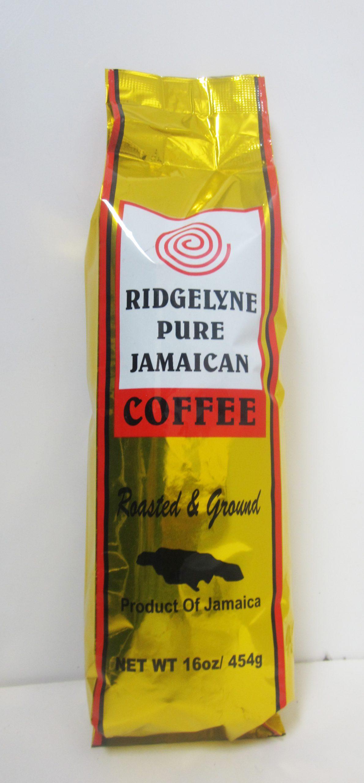 Ridgelyne Blue Mountains Coffee 16oz Ground Roasted